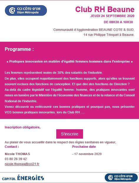 Club rh beaune 24 09 2020