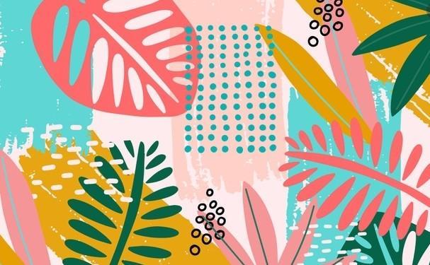Papier fleur 2